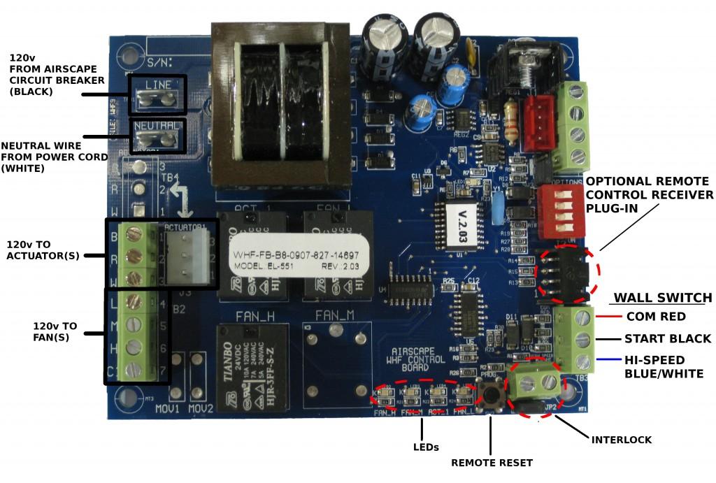 WHF CONTROL BOARD v4