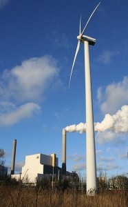 coal-wind-power-plant