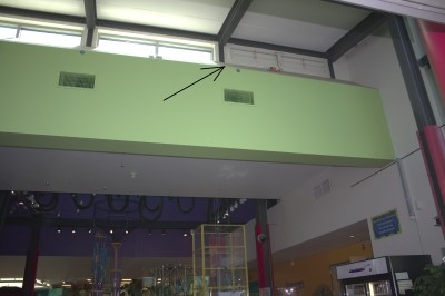 Dampers Above Entryway