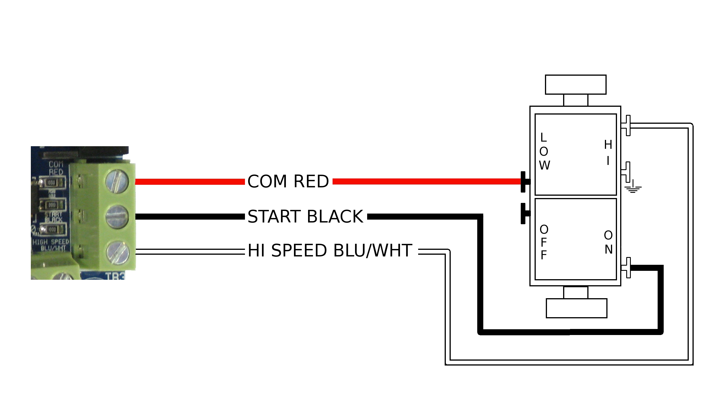 Switch Diagram Wiring : How to wire the wall switch airscape engineer s