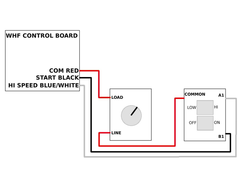 Wiring A Timer To Your Whf  U2013 Airscape Engineer U0026 39 S Blog
